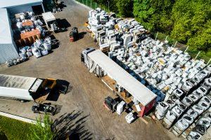 prekybos atliekų sistema